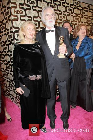 Susanne Haneke, Michael Haneke and Beverly Hilton Hotel