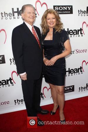 Burt Sugarman and Mary Hart