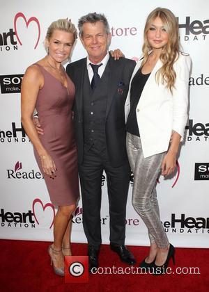 Yolanda Hadid, David Foster, Gigi Hadid The Heart Foundation Gala held at the Hollywood Palladium Los Angeles, California - 10.05.12