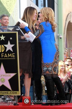 Rita Wilson,  Nancy Wilson  Heart is  honored with a Hollywood Star on the Hollywood Walk of Fame...