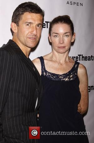 Jonathan Cake and Julianne Nicholson Opening night after party for 'Heartless' at the Signature Theatre Company New York City, USA...