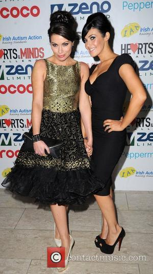 Alison King and Kym Marsh Hearts and Minds Charity Ball, held at the Hilton Hotel Manchester - Arrivals Manchester, England...