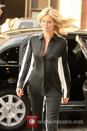 Heidi Klum and Manhattan Hotel