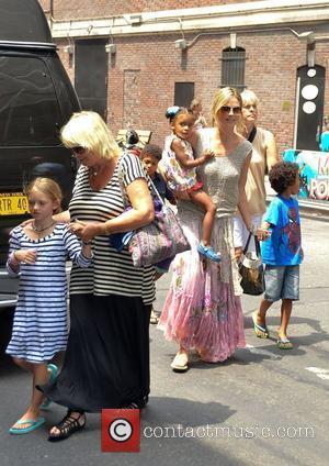 Heidi Klum and Disney