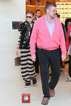 Heidi Klum, Gunther and Louis Vuitton