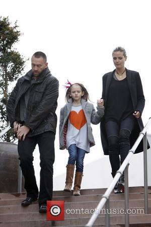 Heidi Klum, Martin Kirsten and Leni Samuel
