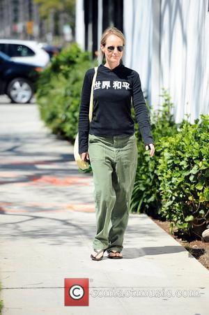 Helen Hunt  seen out and about  Brentwood, California - 21.03.12