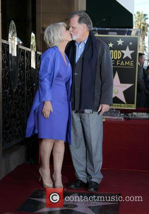 Taylor Hackford; Dame Helen Mirren Dame Helen Mirren is honored with a star on the Hollywood Walk of Fame on...