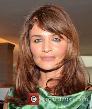 Helena Christensen launches the luxury lingerie brand Triumph Essence collection Spring Summer 2012 at Brown Thomas Dublin, Ireland - 24.02.12