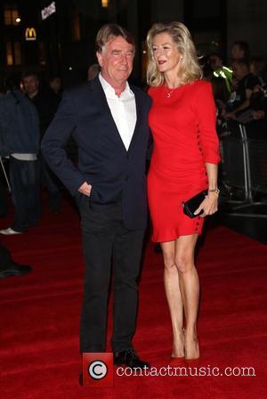 Rick Parfitt and wife Lindsay Parfitt Hello Quo - UK Film Premiere - Arrivals London, England - 22.10.12