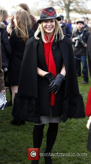 Amanda Holden The Sportingbet Winter Festival - Hennessy Gold Cup Day Bershire, England - 01.12.12