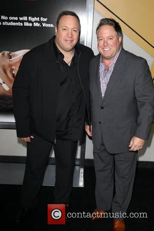 Kevin James, Allan Loeb 'Here Comes the Boom' New York Premiere held at the AMC Theatre in Lincoln Square New...
