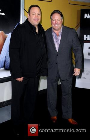 Kevin James and Gary Valentine