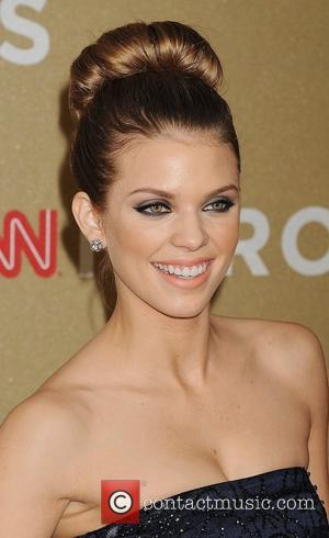 Annalynne Mccord Accidentally Tweets Topless Photo
