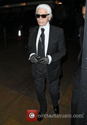 Karl Lagerfeld  arriving at No 5 Hertford Street attending Chanel:The Little Black Jacket dinner London, England - 12.10.12