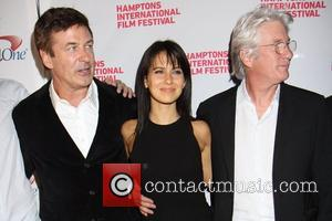 Alec Baldwin, Hilaria Thomas and Richard Gere  20th Hamptons International Film Festival - 'Conversation With Richard Gere & Alec...