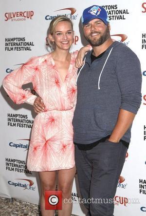 Jess Weixler and Tyler Labine  20th Hamptons International Film Festival - 'Whole Lotta Sole' - Premiere Long Island, New...