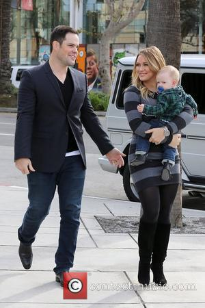 Mike Comrie, Hilary Duff and Luca Cruz Comrie Hilary Duff out and about in Beverly Hills with her husband and...