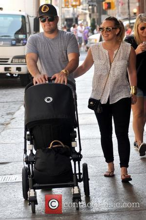Mike Comrie and Hilary Duff