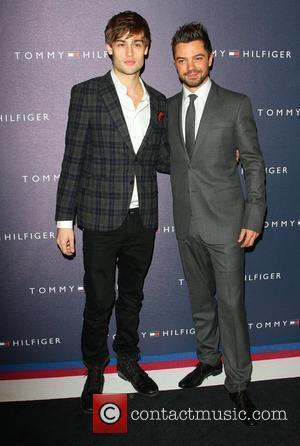 Dominic Cooper and Douglas Booth