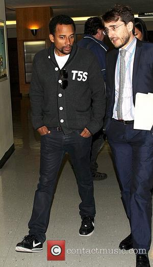 Hill Harper at the United Nations. New York City, USA - 14.03.12