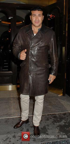 Tamer Hassan ,  at the Hippodrome Casino Launch Party London, England - 12.07.12