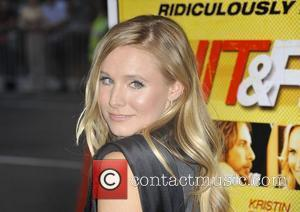 Kristen Bell,  at the Los Angeles premiere of 'Hit & Run' at the Regal Cinemas L.A. Live Los Angeles,...