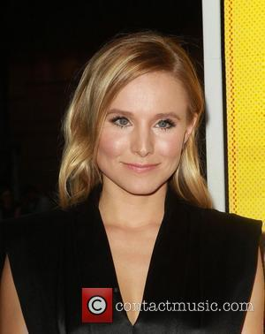 Kristen Bell at the Los Angeles premiere of 'Hit & Run' at the Regal Cinemas L.A. Live Los Angeles, California.-...