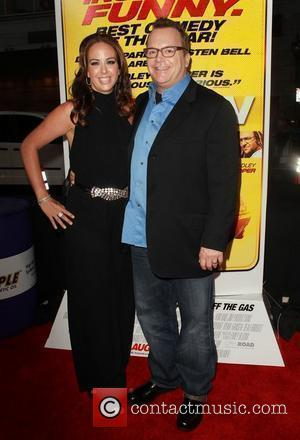Tom Arnold at the Los Angeles premiere of 'Hit & Run' at the Regal Cinemas L.A. Live Los Angeles, California.-...