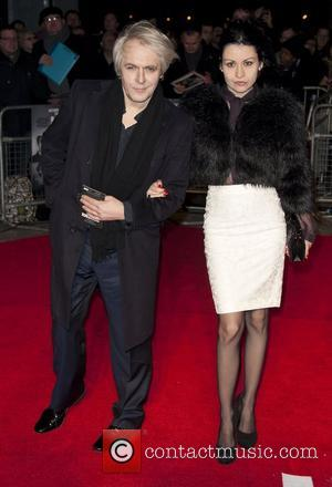 Nick Rhodes and Miss Nefer Suvio The premiere of 'Hitchcock' at the BFI Southbank - Arrivals London, England - 09.12.12