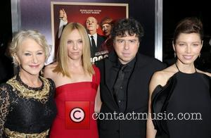 Helen Mirren, Toni Collette, Sacha Gervasi and Jessica Biel