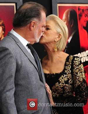 Taylor Hackford and Helen Mirren at the 'Hitchcock' premiere at the Ziegfeld Theater New York City, USA - 18.11.12