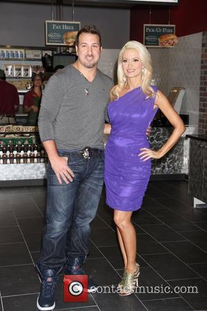 Joey Fatone and Holly Madison
