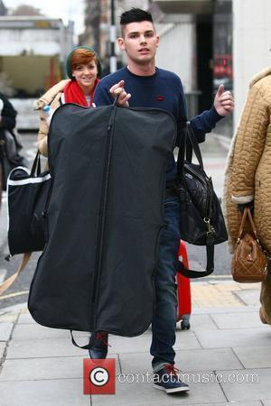 Kieron Richardson The cast of Hollyoaks arrive at London's Euston train station ahead of the National Television Awards on Wednesday...