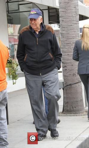 Carl Reiner out and about in Beverly Hills Los Angeles, California - 06.02.12