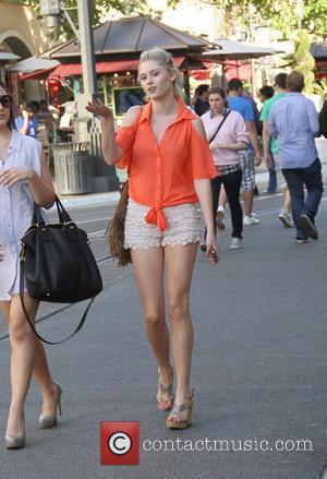 Sara Paxton shopping at The Grove Hollywood, California - 08.03.12
