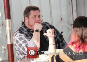 Chaz Bono has lunch with a friend at Urth Cafe in Hollywood West Hollywood, California - 19.01.12