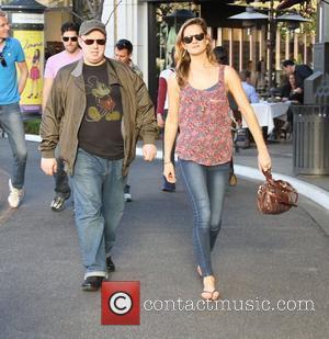 Matt Lucas and a friend are seen walking through The Grove West Hollywood, California - 26.01.12