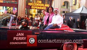 2012 Hollywood Christmas Parade Benefiting Marine Toys For Tots - Show  Featuring: Jan Perry, FamilyWhere: Los Angeles, California, United...