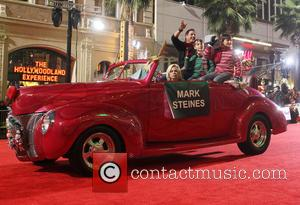 2012 Hollywood Christmas Parade Benefiting Marine Toys For Tots - Show  Featuring: Mark SteinesWhere: Los Angeles, California, United States...