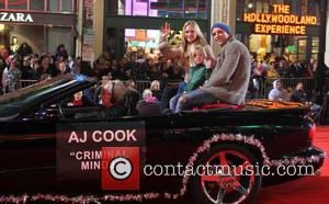 2012 Hollywood Christmas Parade Benefiting Marine Toys For Tots - Show  Featuring: AJ Cook, FamilyWhere: Los Angeles, California, United...