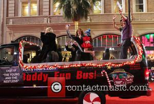 2012 Hollywood Christmas Parade Benefiting Marine Toys For Tots - Show  Featuring: Tracey Bregman, Michelle Stafford, Max Ehrich, Christian...