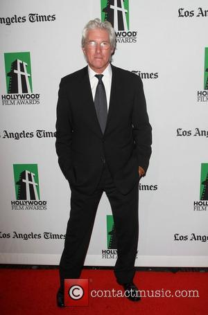 Richard Gere 16th Annual Hollywood Film Awards Gala held at the Beverly Hilton Hotel Beverly Hills, California - 22.10.12