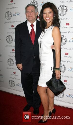 Julie Chen and Leslie Moonves