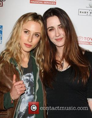 Gillian Zinser and Madeline Zima