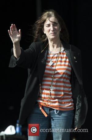 Patti Smith Hop Farm Music Festival 2012 - Day 2 Kent, England - 30.06.12