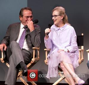 Tommy Lee Jones and Meryl Streep