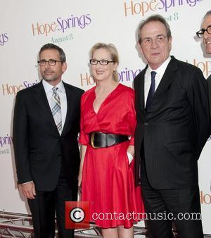 Steve Carell, Meryl Streep and Tommy Lee Jones
