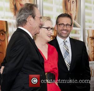 Tommy Lee Jones, Meryl Streep and Steve Carell