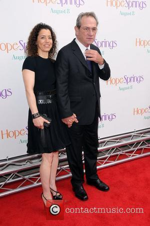 Dawn Laurel-Jones and Tommy Lee Jones  New York Premiere of 'Hope Springs' at the SVA Theater  New York...